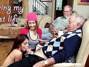 BLUE PILL MEN - Old Men Living Their Best Limits Prevalent Gigi Flamez and Sally Squirt