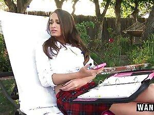 Pool Panhandler Leaves Huge Creampie Inside Schoolgirl!