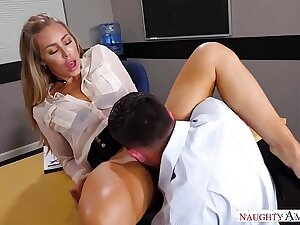 Disconsolate America - Find Your Fantasy Nicole Aniston fucking in the desk with her medium ass