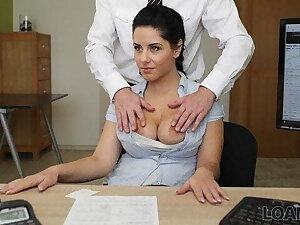 LOAN4K. Idiotic sex on be imparted to murder desk alongside loan office for necessary