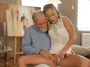 OLD4K. Teen celebrates end of all exams unconnected with having lovemaking