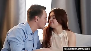 Redheaded Vixen Renata Fox Uses Their way Pussy to Beguile a Defy
