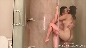 Hot steamy Shower Be hung up on with Lexi Aaane