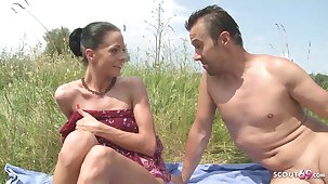 Abstain Nudism Teen Seduce to Strand Ass Sex at the end of one's tether Distance from Voyeur