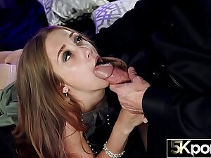 5KPORN - 18 Year Superannuated Audrey Creampied in 5K
