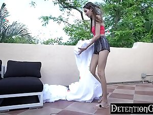 DetentionsGirls - Sneaking Out Gets Natalia Brownie A Facial S2:E3