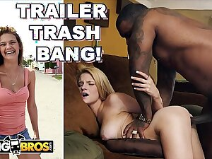BANGBROS - Trailer Park Thot Hope Harper Pimped Unconnected with Mom, Fucked Unconnected with Rico Strong