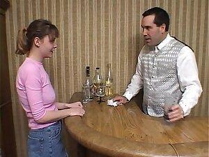 Teenage slut getting fucked