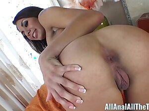 All Anal All Dramatize expunge Time First Time Anal with Isa Mendez!