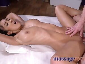Rub down Rooms Skinny with chunky tits dark skin angel fucked by masseur