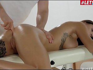LETSDOEIT - Big Tits Teen Liya Silver Finger Fucked & Bottomless gulf Anal Fortified On Massage Sex