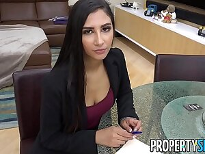 PropertySex - Hot real property representative cheats out of reach of boyfriend to land real property deal