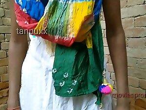 Outdoor teen girl Puja Gupta fucking