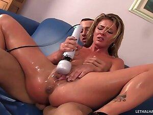 Slutty pornstar Sheena Shaw pays off debt nearby pussy