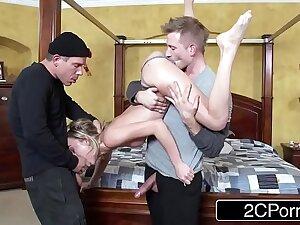 Home Alone XXX Travesty starring Undersized Teen Slut Dakota Skye