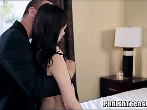 Teen Likes Pain And Gets Punish Fucked - PunishTeensHD.com